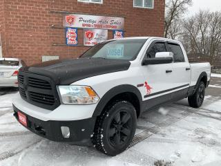 Used 2014 RAM 1500 Big Horn/ECODIESEL/CREW CAB/4X4/NO ACCIDENT for sale in Cambridge, ON