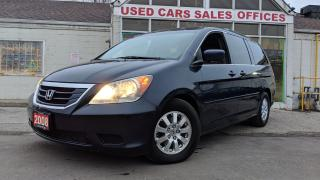 Used 2008 Honda Odyssey EX-L|LEATHER|POWER DOOR|SUNROOF|BACKUP CAM||DVD for sale in Mississauga, ON