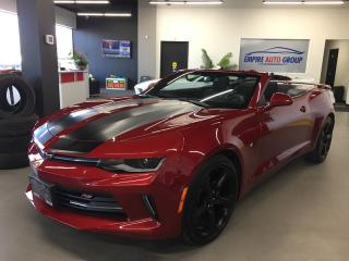 Used 2018 Chevrolet Camaro LT * Convertible * Back UP Camera * Bluetooth * Onstar * for sale in London, ON