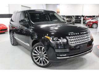 Used 2017 Land Rover Range Rover 5.0L V8 Supercharged Autobiography for sale in Vaughan, ON