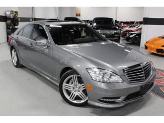 Used 2013 Mercedes-Benz S-Class S550 4-MATIC AMG   MASSAGE SEATING   DISTORNIC for sale in Vaughan, ON