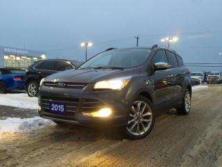 Used 2015 Ford Escape SE AWD 2.0L ECO NAVIGATION HEATED SEATS for sale in Midland, ON