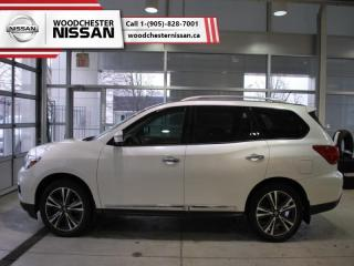 Used 2017 Nissan Pathfinder Platinum  - $257.21 B/W for sale in Mississauga, ON