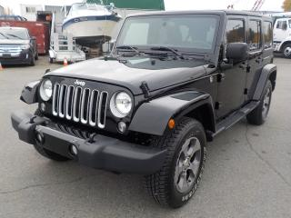 Used 2018 Jeep Wrangler JK Unlimited Sahara 4WD 4 Door for sale in Burnaby, BC