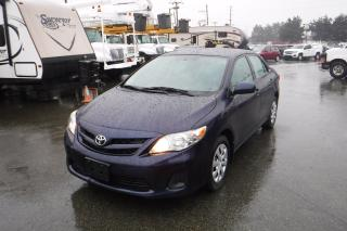 Used 2011 Toyota Corolla AUTOMATIC for sale in Burnaby, BC