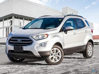 New 2018 Ford EcoSport SE AWD for sale in Winnipeg, MB
