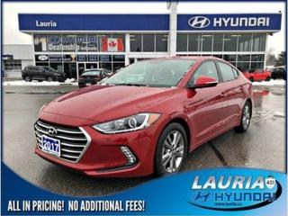 Used 2017 Hyundai Elantra for sale in Port Hope, ON