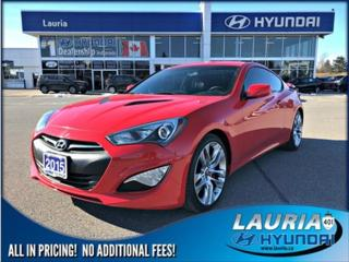 Used 2015 Hyundai Genesis Coupe for sale in Port Hope, ON