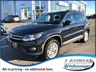 Used 2016 Volkswagen Tiguan for sale in PORT HOPE, ON