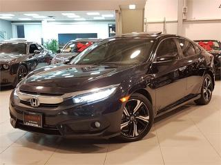 Used 2016 Honda Civic Sedan TOURING-NAVIGATION-LEATHER-SURNOOF-ONLY 76KM for sale in Toronto, ON