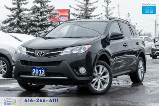 Used 2013 Toyota RAV4 LIMITED AWD NAVIGATION NO ACCIDENTS CERTIFIED MINT for sale in Bolton, ON