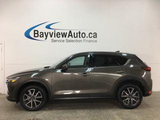 Used 2018 Mazda CX-5 GT - AWD! SUNROOF! PUSH START! HTD LEATHER! REVERSE CAM! BOSE SOUND! BSA! PWR LIFTGATE! for sale in Belleville, ON