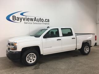 Used 2017 Chevrolet Silverado 1500 LS - 4X4! ONSTAR! BLUETOOTH! HITCH! TOW/HAUL! for sale in Belleville, ON