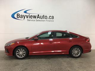 Used 2018 Hyundai Sonata GL - HTD SEATS! BLUETOOTH! REVERSE CAM! BSA! RCTA! ALLOYS! for sale in Belleville, ON