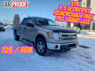 Used 2013 Ford F-150 XTR CREW 6.6 4X4/Ecoboost for sale in Drummondville, QC