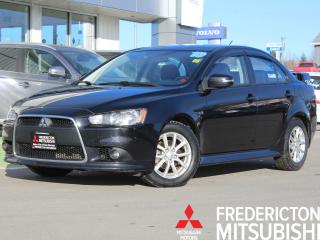 Used 2015 Mitsubishi Lancer HEATED SEATS | SUNROOF | WARRANTY TO 2025 for sale in Fredericton, NB
