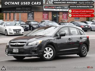 Used 2012 Subaru Impreza 2.0i ONE OWNER! ONTARIO VEHICLE! for sale in Scarborough, ON