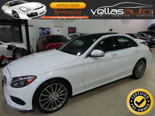 Used 2015 Mercedes-Benz C-Class C400| 4MATIC| AMG SPORT PKG for sale in Vaughan, ON