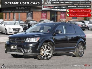 Used 2012 Dodge Journey R/T ACCIDENT FREE! AWD! 7 PASSENGER! for sale in Scarborough, ON