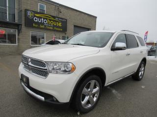 Used 2012 Dodge Durango Citadel,NAVI,AWD SUNROOF,DVD,LEATHE,REMOT STARTER for sale in Newmarket, ON