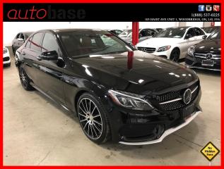 Used 2016 Mercedes-Benz C-Class C450 AMG 4MATIC INTELLIGENT DRIVE PREMIUM 360 CAM for sale in Vaughan, ON