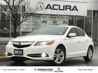 Used 2013 Acura ILX Hybrid CVT -Navi, Backup Cam, Heated Sts for sale in Markham, ON