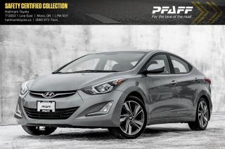 Used 2015 Hyundai Elantra GLS at ONE OWNER, HAS SNOWS TOO! for sale in Orangeville, ON