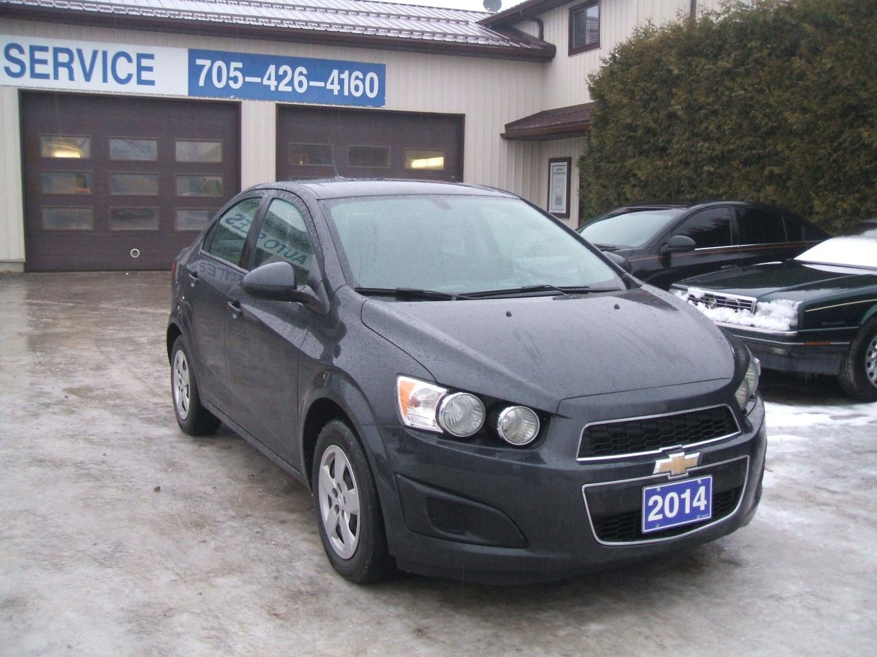 Photo of Grey 2014 Chevrolet Sonic