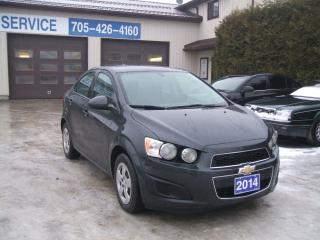 Used 2014 Chevrolet Sonic LS for sale in Beaverton, ON