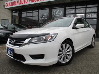 Used 2014 Honda Accord CAMERA-ALLOYS-HEATED SEATS-BLUE-TOOTH for sale in Scarborough, ON