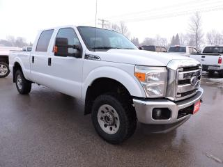 Used 2013 Ford F-250 XLT. Crew. 4X4. Only 110000 km for sale in Gorrie, ON