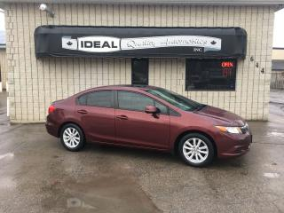 Used 2012 Honda Civic EX for sale in Mount Brydges, ON