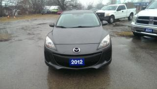 Used 2012 Mazda MAZDA3 GX BLUE TOOTH HANDS FREE PHONE AND AUDIO for sale in Cambridge, ON