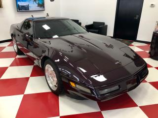 Used 1994 Chevrolet Corvette Coupe with Targa top 6 Speed manual for sale in Perth, ON