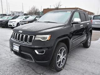 New 2019 Jeep Grand Cherokee Limited NAVI/DUAL-PANE SUNROOF/ADVANCED SAFETY GRO for sale in Concord, ON