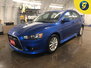 Used 2015 Mitsubishi Lancer SE * CVT * Sunroof * Hands free steering wheel controls * Voice recognition * Phone connect * Keyless entry * Heated front seats *  Power windows/ mir for sale in Cambridge, ON