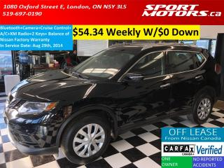 Used 2014 Nissan Rogue S+Bluetooth+Camera+Cruise+A/C+XM Radio for sale in London, ON