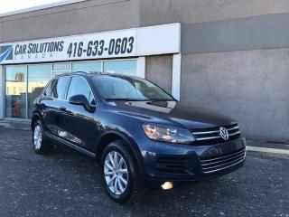 Used 2012 Volkswagen Touareg NAVI-SUNROOF-LEATHER for sale in Toronto, ON