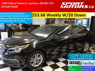 Used 2016 Hyundai Sonata 2.4L GL+Camera+Heated Seats+New Tires & Brakes for sale in London, ON