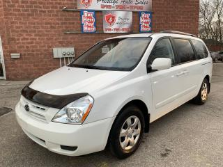 Used 2010 Kia Sedona LX/ONE OWNER/NO ACCIDENT/CERTIFIED/WARRANTY INCL for sale in Cambridge, ON