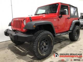 Used 2016 Jeep Wrangler SPORT for sale in Drummondville, QC