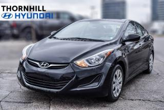 Used 2014 Hyundai Elantra GL  Heated Seats, Bluetooth, MP3 Audio Input for sale in Thornhill, ON