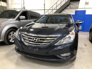 Used 2013 Hyundai Sonata Limited 2.0L w/Navi - Leather - Moonroof for sale in Aurora, ON