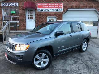 Used 2012 Jeep Compass North Edition 4x4 Remote Start Heated Cloth for sale in Bowmanville, ON