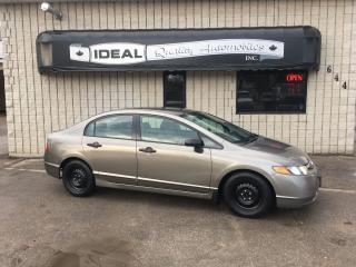 Used 2006 Honda Civic DX-G for sale in Mount Brydges, ON