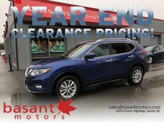 Used 2018 Nissan Rogue SV, Panoramic Roof, Backup Camera, Heated Seats!! for sale in Surrey, BC