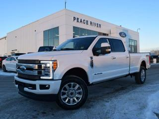 Used 2019 Ford F-350 Super Duty SRW Limited 4x4 SD Crew Cab 176.0 in. WB for sale in Peace River, AB