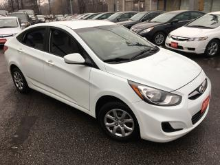 Used 2013 Hyundai Accent GL/ 6 SPEED/ POWER GROUP/ HEATED SEATS/ TINTED! for sale in Scarborough, ON