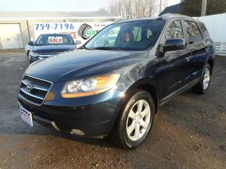 Used 2008 Hyundai Santa Fe Limited - Clean Carproof - Certified w/ Warranty for sale in Brantford, ON