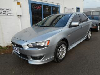 Used 2010 Mitsubishi Lancer SE - Clean Carproof - Saftied w/ 6 Month Warranty for sale in Brantford, ON